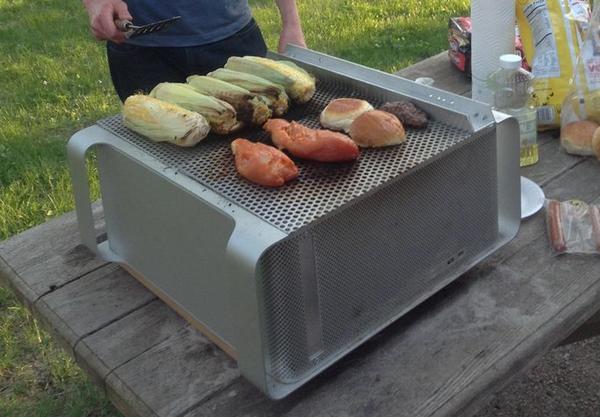 10 id es insolites de grilles pour en faire un barbecue. Black Bedroom Furniture Sets. Home Design Ideas