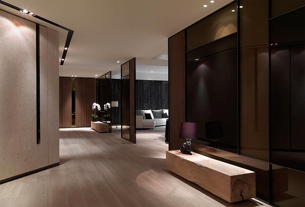Un appartement de luxe avec un d cors sobre et moderne - Appartement de luxe ando studio ...