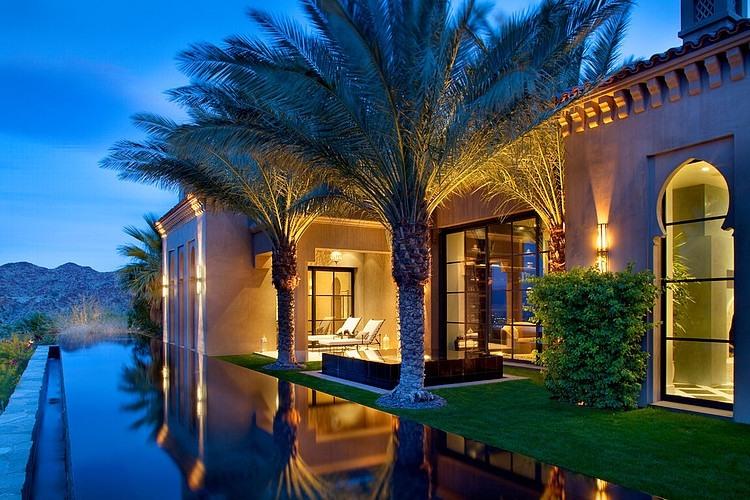 Une Villa En Floride Avec Un Design 100 Orientale