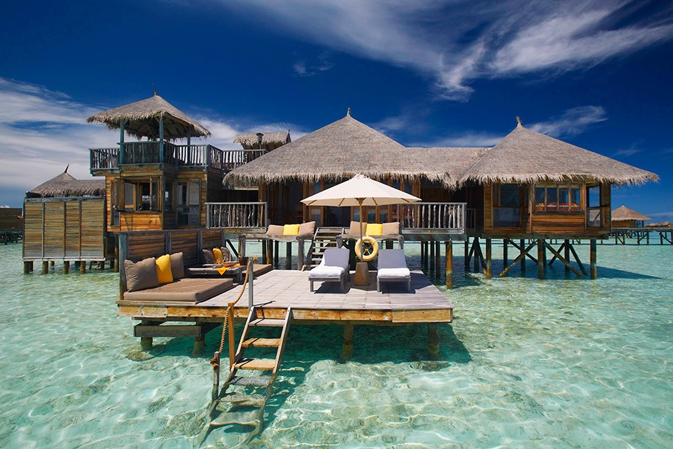 D couvrez ces villas de luxe sur pilotis en location sur l - Maison sur pilotis maldives ...