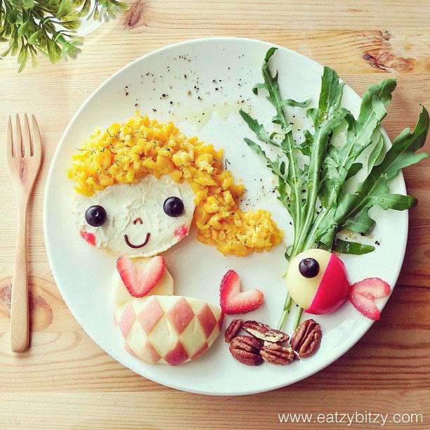 Des d licieux plats pour enfants tr s artistiques r alis s par une jeune maman - Repas equilibre enfant ...