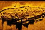 Découverte d'un navire de la guerre de sécession moyennant un sonar