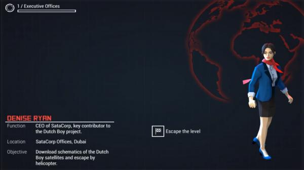 Personnage du jeu de réflexion Geostorm disponible sur Android et iOS