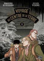 Adaptation manga de voyage au centre de la terre du romancier Jules verne est paru aux éditions Pika en septembre 2017.