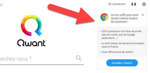 Qwant Moteur De Recherche Par Defaut Sur Chrome Et Firefox
