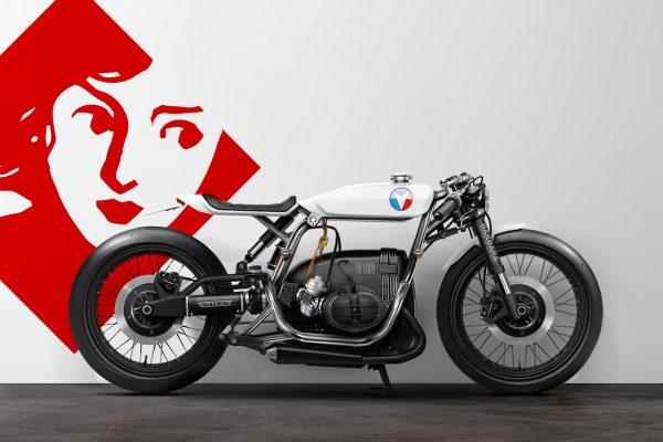 Des Motos Kawasaki Bmw Ou Honda Projetées Par Une Agence Dans Le