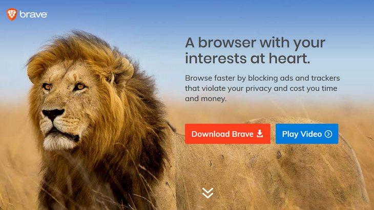 Brave navigateur web protège votre vie privée sans cookies sans pub sans traçage