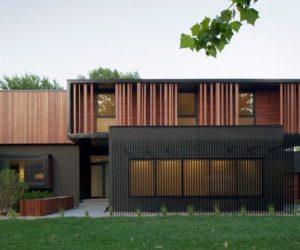Une maison moderne de 604 m2 avec une architecture à couper le souffle, nous vous offrons les plans!